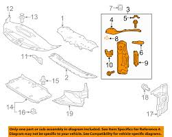 lexus is350 for sale tampa lexus toyota oem 14 16 is350 radiator support side panel right