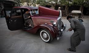 antique mercedes drive into the past with pakistan u0027s vintage car collectors