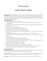 Cashier Job Duties For Resume Cashier Job Description Head Cashier Job Description Free Word