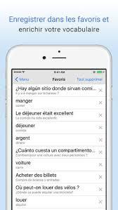 chambre traduction espagnol dictionnaire français espagnol traduction dans l app store
