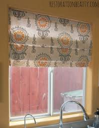 restoration beauty super quick no sew roman shades