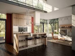 Modern Open Kitchen Living Room Designs Living Room And Kitchen Designs Open Kitchen And Living Room