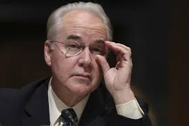 Clinton Cabinet Member Crossword Tom Price Nears Senate Confirmation As Donald Trump U0027s Health