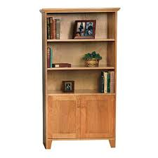 Bookcases With Glass Bookcase Wood Bookcase With Glass Doors Reclaimed Wood Bookcase