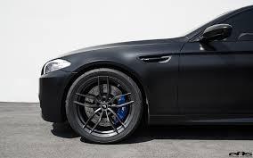 matte black car matte black bmw f10 m5 gets vorsteiner flow forged wheels