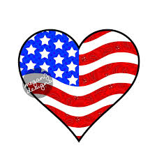 Us Flag Facts American Flag Heart Car Decal Sticker Cute Patriotic Usa