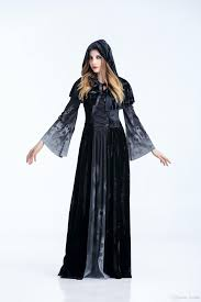 halloween costumes vampire queen cosplay dress long sleeve and