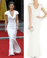 Alexander Mcqueen Wedding Dresses Pippa Middleton U0027s Alexander Mcqueen Bridesmaid Dress Goes On Sale