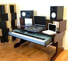 Studio Production Desk by Music Desk Studio Desk Production Desk Recording Desk Daw