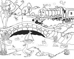 download thomas train coloring pages henry print thomas