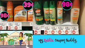 spirit halloween printable coupon great deals on off repellent at publix my publix coupon buddy