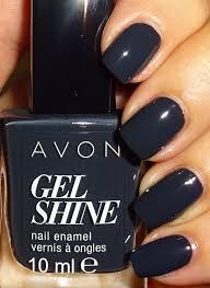 avon gel shine nail polish charcoal smoke avon beauty connects