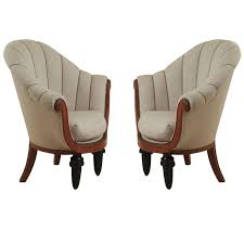 Art Deco Armchairs Maurice Dufrène Pair Of Early Art Deco Armchairs For Sale At 1stdibs