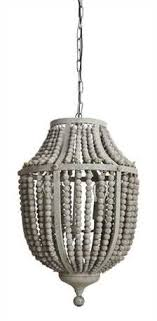 bead chandelier grey wood bead chandelier out of the woodwork designs