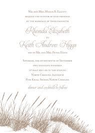 wedding oats sea oats wedding invitations paperwhites wedding invitations