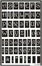 13 Best Stencils Images On Pinterest Alphabet Stencils Stencil