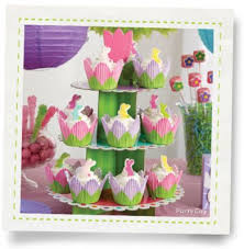 Party City Easter Cake Decorations by Bunny U0026 Blossom Easter Cupcakes How To Party City