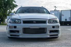 Gallery For Gt Light Blue by Fake R34 Nisan Gt R Wagon For Sale Is Based On Jdm Stagea