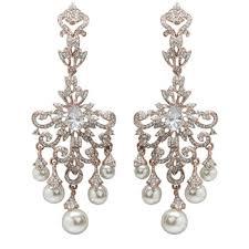 gold bridal earrings chandelier earrings swarovski chandelier wedding earrings