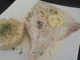 cuisine aile de raie au four aile de raie au four les recettes de chris telle
