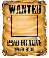 most wanted poster