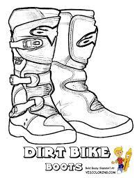 motocross bike boots dirt bike boots coloring pages art pinterest dirt bike boots