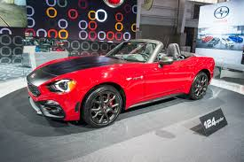 fiat roadster 2017 fiat 124 spider priced from 24 995 in the u s