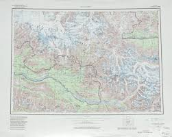 Topographic Map Of The United States by Mccarthy Topographic Map Sheet United States Full Size