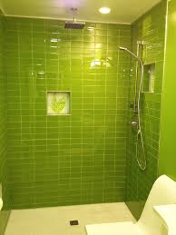 bright green glass subway tile in lemongrass modwalls lush 3x6