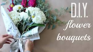 Diy Flower Arrangements Diy Flower Bouquets Anna Creative Youtube