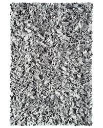 Black And Silver Rug Silver Shaggy Raggy Rug By The Rug Market Rosenberryrooms Com