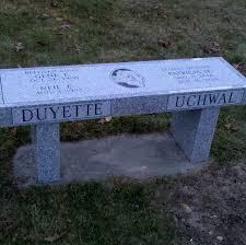 benches quincy memorials inc