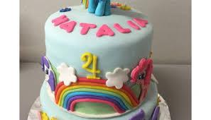 cake my little pony u2013 mi pequeno pony u2013 rainbow dash para fabianna
