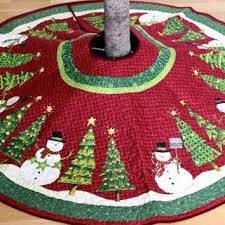 impressive design quilted tree skirts free printable