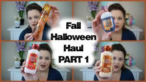 bath u0026 body works fall halloween haul part 1 august 2016 youtube