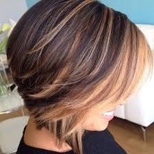 hairstyles for short highlighted blond hair 17 gorgeous outfits for early spring 2018 brunette bob caramel