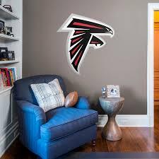 atlanta falcons logo wall decal shop fathead for atlanta