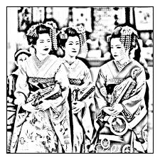japan traditional makeup japan coloring pages for adults