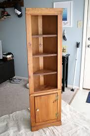 corner cabinet bookcase corner shelf and color u2014 interior home design attractive corner