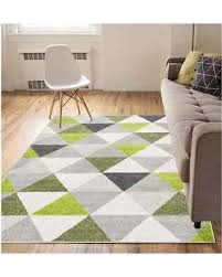 Mid Century Modern Area Rugs New Savings On Well Woven Mid Century Modern Geometric Triangles