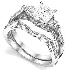 wedding ring set antique wedding ring set jeenjewels