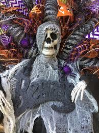 Halloween Wreaths Door Halloween Wreath Halloween Door Wreath Halloween Skeleton Wreath