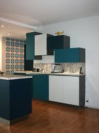 meuble cuisine bleu meuble cuisine bleu meilleur de awesome cuisine peinte en bleu