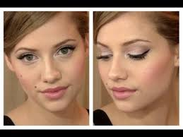 makeup for brown eyes and royal blue dress
