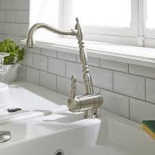 cr ence miroir cuisine faience metro blanc idées décoration intérieure farik us