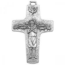 papal crucifix pope francis papal cross pendant leaflet missal