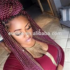 pre braided crochet hair wholesale pre twisted hair senegalese crochet hair extension
