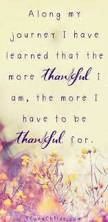 stop and think about something you re thankful for gratitude