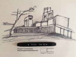 draw perspective of library building tutorial youtube