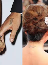 celebrity couple tattoos bad couple matching tattoos